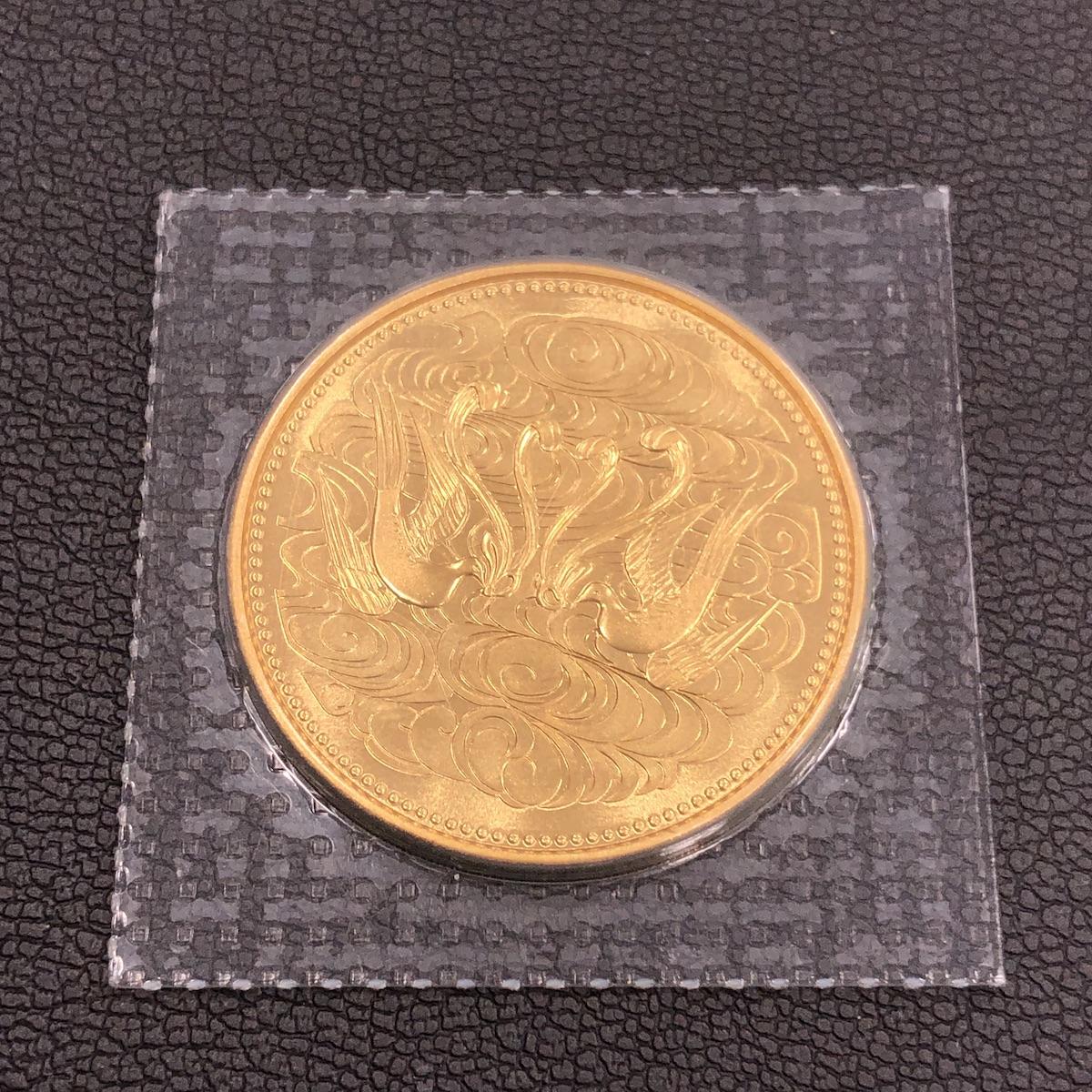 天皇陛下御在位60年記念金貨