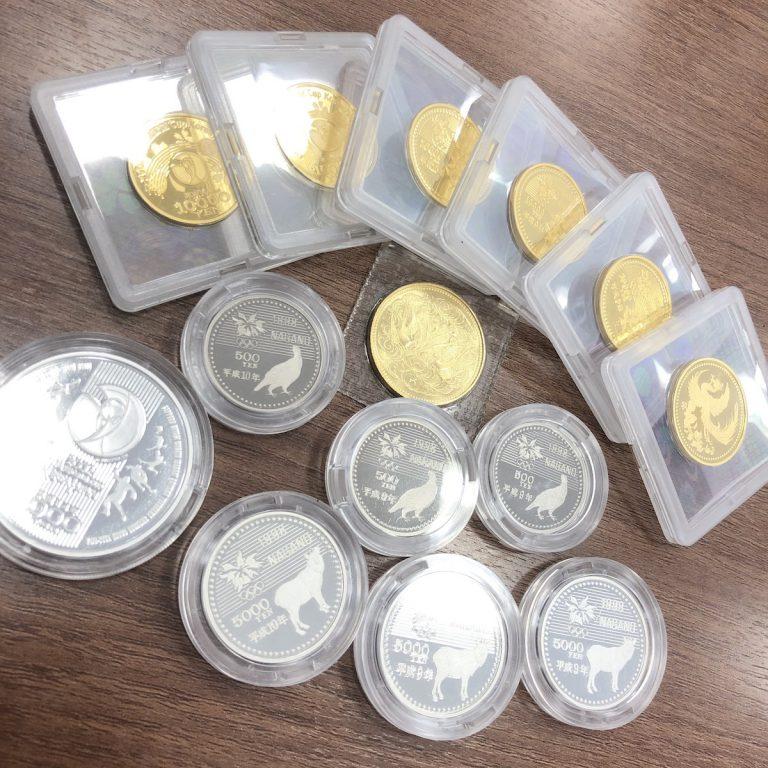 金貨 銀貨 記念硬貨
